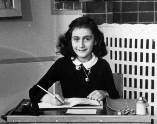 Researchers find dirty jokes in hidden pages from Anne Frank's diary