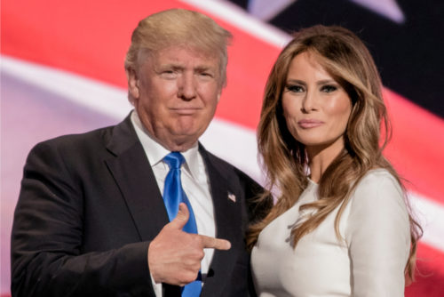 Melania Trump announced she'll address a cyberbullying conference. Twitter cracked up