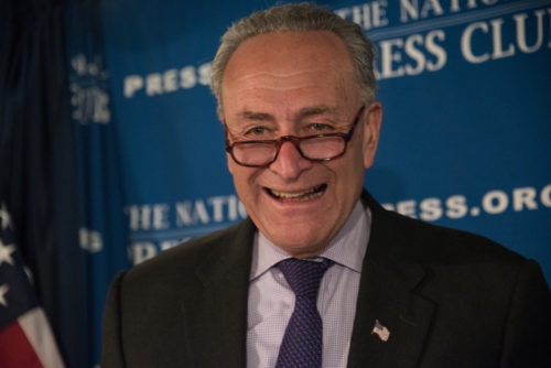 Trump Blasts 'Cryin' Chuck Schumer' For Flipping On Iran Deal