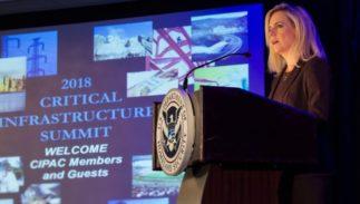 Department of Homeland Security Secretary Kirstjen Nielsen speaks at the 2018 CIPAC Meeting on March 2, 2018.