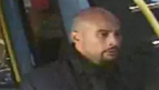 CCTV image of a suspect in a Central London homosphobic attack