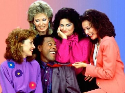 "The cast of the hit show ""Designing Women"""