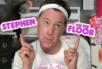 Stephen Colbert mocks Donald Trump with a makeup tutorial