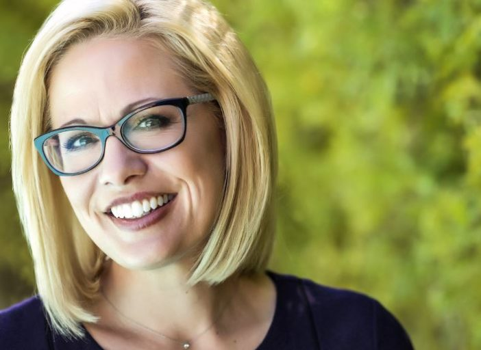 Out senator Kyrsten Sinema's favorability ratings are tanking & everyone knows why