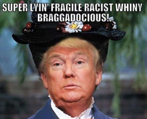 Donald Trump as Mary Poppins