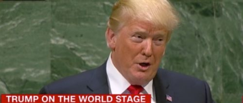 Trump addresses the United Nations while delegates laugh at his wild boasts