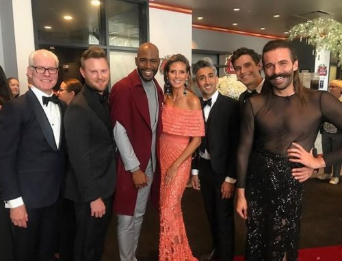 Jonathan Van Ness Defends Emmys Dress After Queer Eye Win