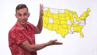 Adam Rippon wants you to get out and vote in the upcoming election.