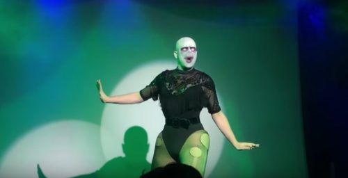 Florida Man as Lady Voldemort