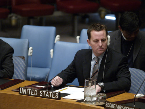 Richard Grenell at a UN Security Council meeting