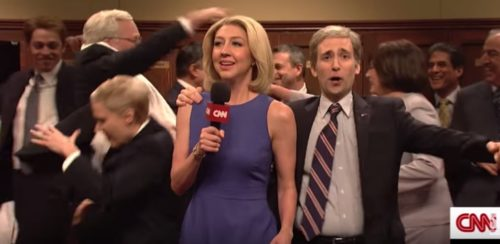 Saturday Night Live tore in the Brett Kavanaugh's nomination to the Supreme Court in their cold open