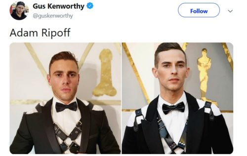 Side-by-side of Kenworthy and Rippon.
