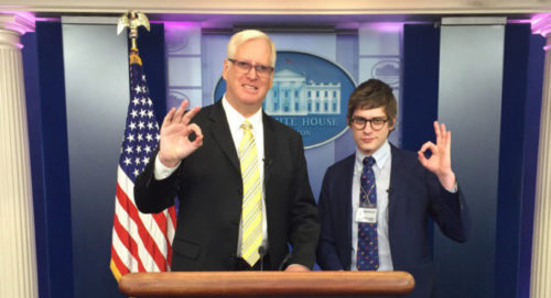 """Gateway Pundit"" Jim Hoft and ""Twinks 4 Trump"" Lucian Wintrich"