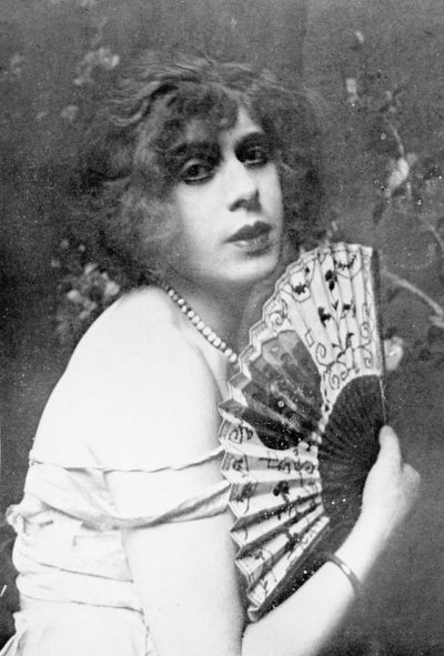 "Lili Elbe, pictured here in 1925, from her autobiography, ""Man Into Woman."""