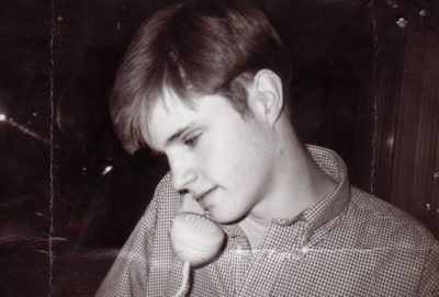 Matthew Shepard, in a family photo carried in his father's wallet.