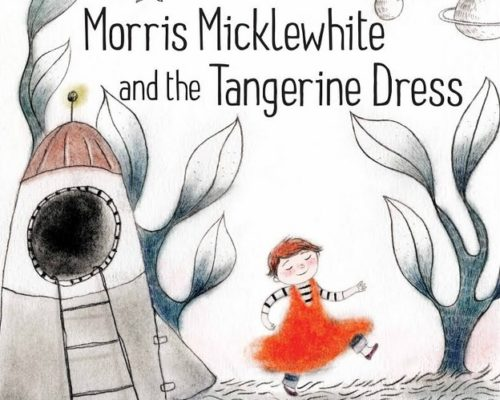 """Morris Micklewhite and the Tangerine Dress"" was one of the books burned in the video."
