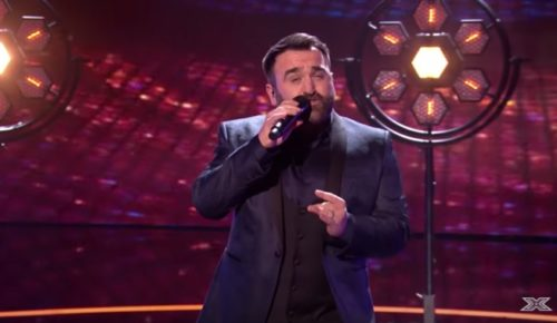 X Factor UK contestant Danny Tetley