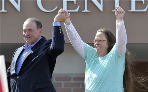Kim Davis Loses Re-election Bid to Pro-LGBTQ Democrat