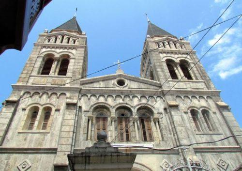 St Joseph's Catholic cathedral in Zanzibar, Tanzania. Governor Paul Makonda, like 61% of Tanzanians, is Christian.