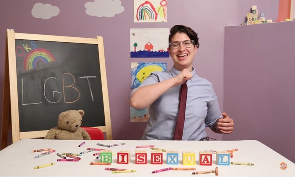 the Queer Kid Stuff channel