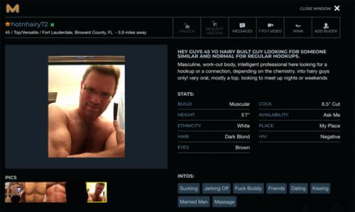 American gay hookup site