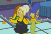 Image from The Simpsons' drag episode
