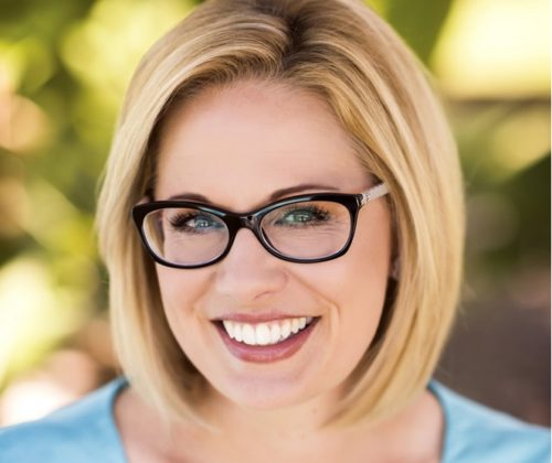Kyrsten Sinema shows respect for late John McCain in acceptance speech