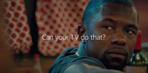 Amazon's new Fire TV commercial features two gay men watching the movie Moonlight and planning for their wedding day.