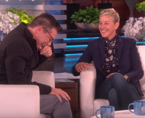 Ellen and Sean Hayes