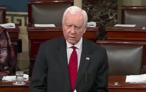 Orrin Hatch in the Senate