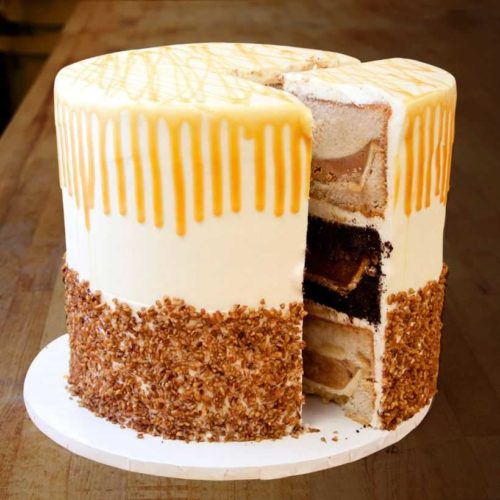 The Pumpecapple piecake