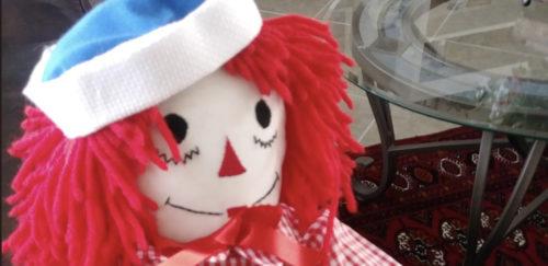 Gab'e Raggedy Andy Doll
