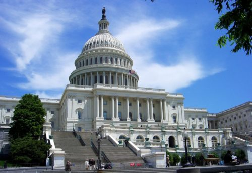 Capitol building on a nice day