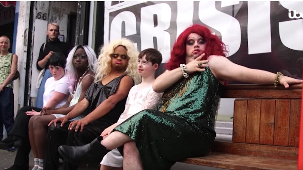 Drag Syndrome, Down's syndrome, drag show, UK