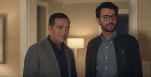 This gay couple in an AT&T commercial has an evangelical hate group up in arms.