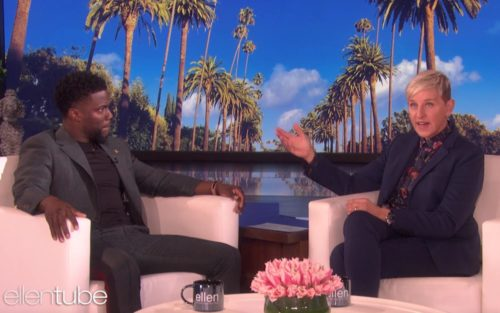 Kevin Hart and Ellen