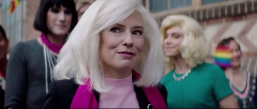 Actress Sugar Lyn Beard portrays Edie Windsor in Drunk History's version of the battle to win marriage equality.