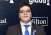 Gavin Grimm at the GLAAD Media Awards in New York City, May 2017.