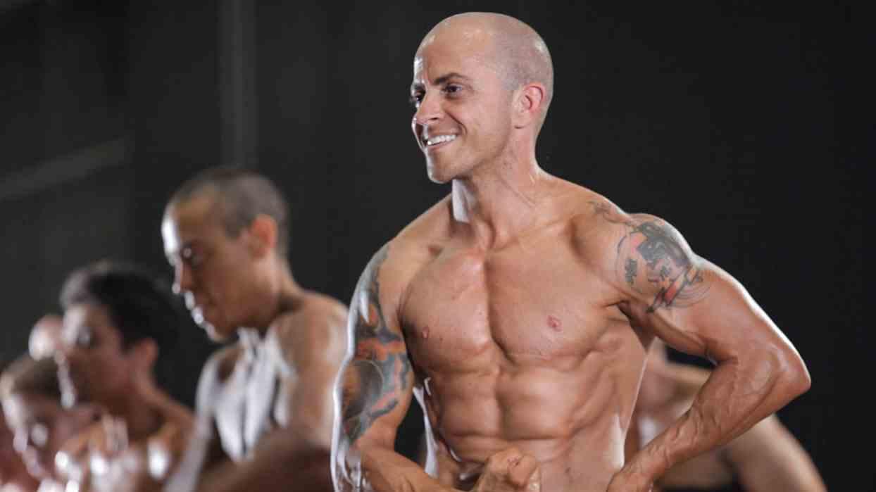 Trans bodybuilder Mason Caminiti,