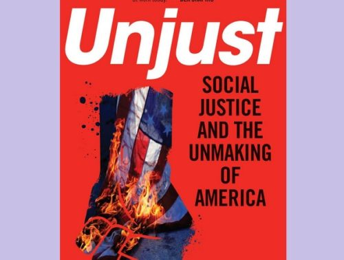 """Cover of the book """"Unjust"""""""
