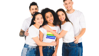 One in four LGBTQ young people now identify as non-binary