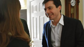 South Bend, Indiana, mayor and 2020 presidential candidate Pete Buttigieg