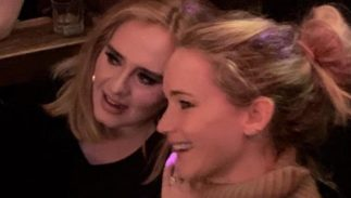 Adele, Jennifer Lawrence, gay bar, Pieces