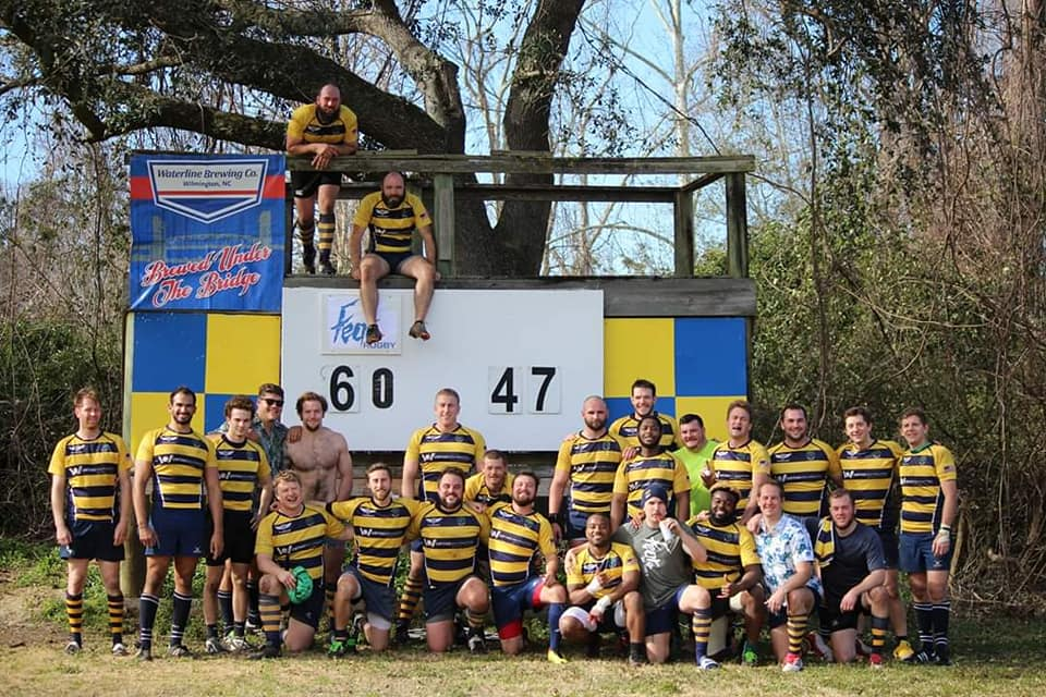 Cape Fear Rugby Club, Wilmington, North Carolina, anti-Semitic, homophobic, vandalism, graffiti, swastikas