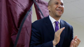 Cory Booker says he'll repeal the transgender military ban if elected
