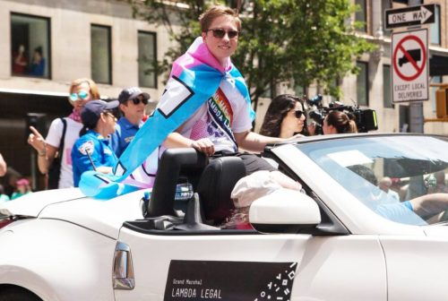 Lambda Legal, Drew Adams, transgender