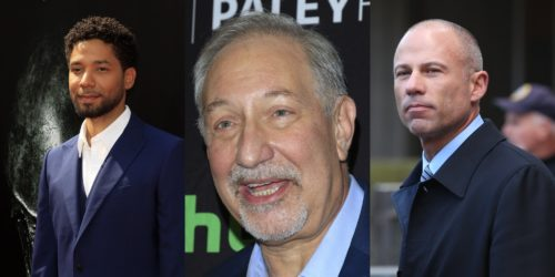 Jussie Smollet, Mark Geragos, and Michael Avenatti