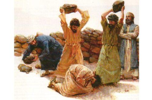 Stoning scene