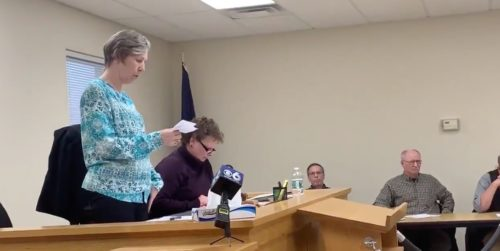 Root, NY town clerk Sherrie Eriksen apologizes for denying a gay couple a marriage license