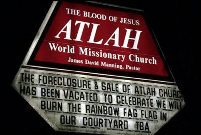 A church sign calling to